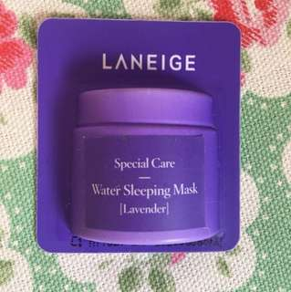 Laneige water sleeping mask lavender 4mL
