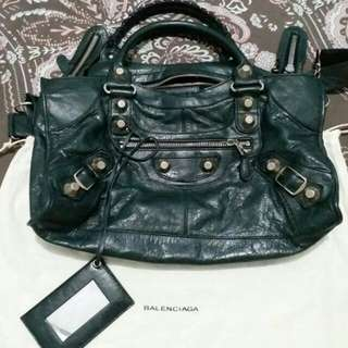 TAS BALENCIAGA CITY GIANT ANTRACITE
