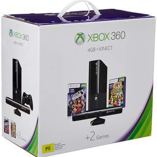 Xbox 360 Kinect with 320 Gb hdd
