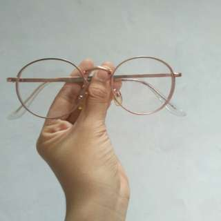 Rose Gold Glasses