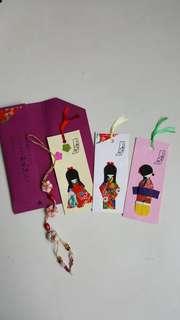 🚚 日本手工書籤及吊飾