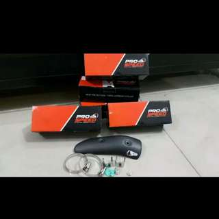 Xmax racing exhaust protector