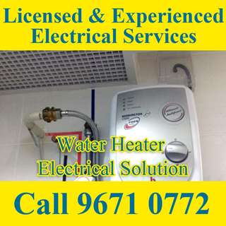 Water Heater Electrical Service
