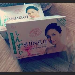 全新Shinzui混櫻美白肥皂
