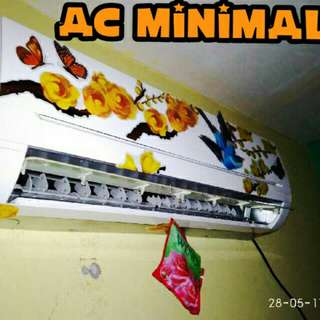 ac minimalis kristal 10-25watt sejukkan ruangan