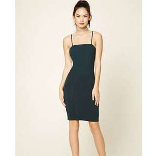Body con dress Forest Green