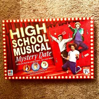 High School Musical Mystery Date Board Game