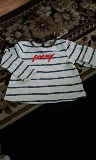 ( includ pos rm15 )Poney Shirt  6-12m