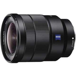 BNIB Sony Vario- Tessar T* FE 16-35mm F4 Lens