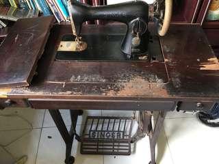 Antique Singer Step Sewing Machine
