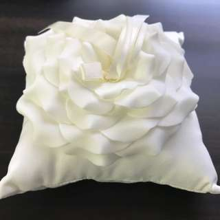 Wedding band pillow