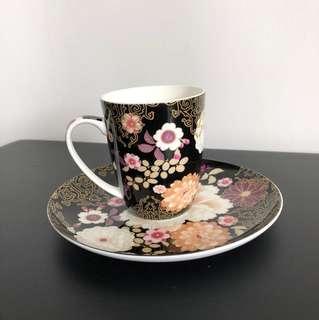 Maxwell Williams Kimono Mug & plate set
