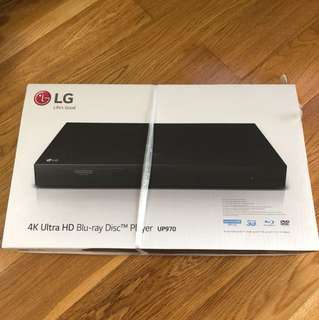 LG 4K Ultra HD Blu-ray Disc player UP970 藍光碟機