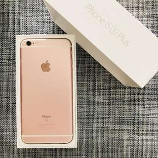 Iphone 6S plus rose gold 64GB full set