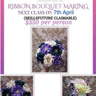Ribbon Bouquet Making Course