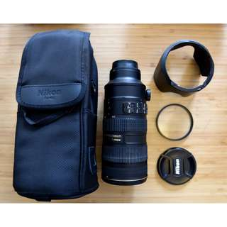Nikon 70-200 mm F2.8 VR2 MKII