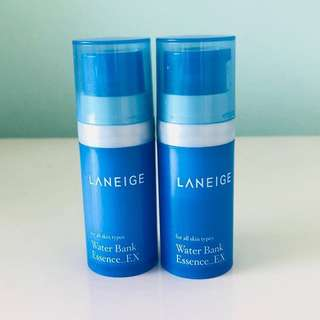 Laneige water bank ex serum 10ml x2