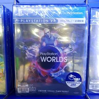 PS4 Game: PlayStation VR Worlds