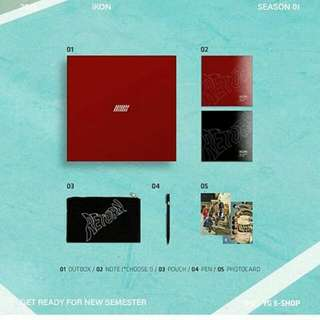 [LIMITED EDITION] IKON/WINNER/AKMU/BLACKPINK  BACK TO SCHOOL OFFICIAL MERCHANDISE