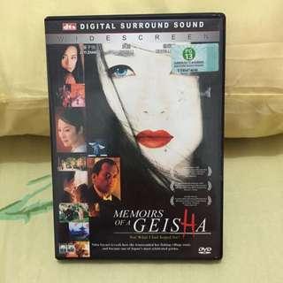 Memoirs Of A Geisha Dvd
