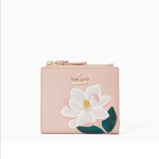 SALE Kate Spade Swamped Adalyn Small Wallet Magnolia Floral