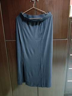 Uniqlo Long Skirt With Slit