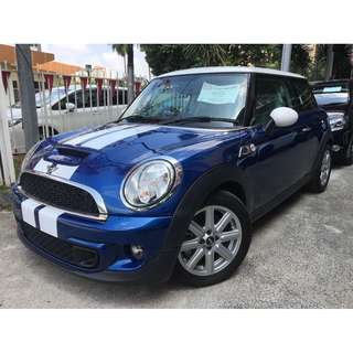 2013 MINI Cooper 1.6 S i-Drive UNREG  (DEMO CAR)