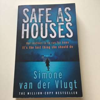 Safe as Houses by Simone Van Der Vlugt