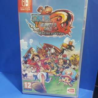 One piece : Unlimited World Red (Nintendo switch)