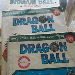 Komik bekas dragon ball