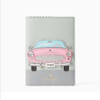 SALE Kate Spade Checking In Pink Car Passport Holder