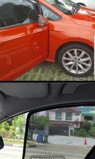 Magnetic Car Sunshades for golf MK7