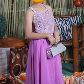 Repriced Elegant Gown for Debut/Prom Gown (for Special Occasions)