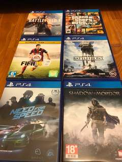 PS4 games all time favourites
