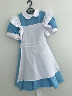 Alice in the Wonderland Costume for Rent