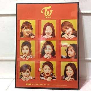 FRAMED TWICE POSTER