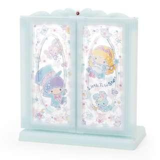 Japan Sanrio Little Twin Stars Glittering Desktop Side Mirror