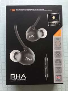RHA T20i In-Ear Headphones