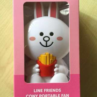 Line Friends Cony Portable Fan
