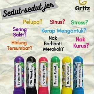 Gritz Inhaler 🌺Readystock🌺