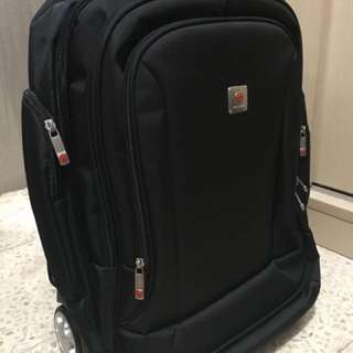 Polo Classic -  Tas Back Pack Trolley Roda