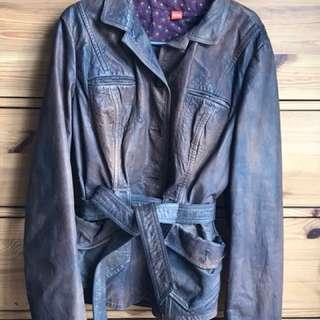 Genuine BOSS Ladies Leather Jacket