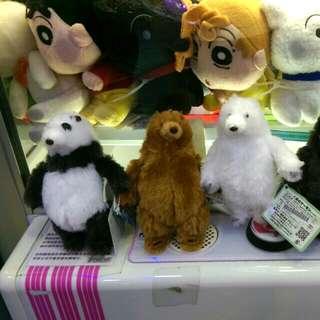 超可愛 Amuse 熊仔 熊人吊飾
