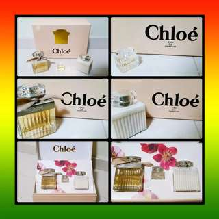 Brand New Chloe EDP Perfume Gift Set (3 Pieces)