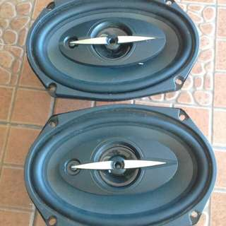 Speaker belakang audio X file brand