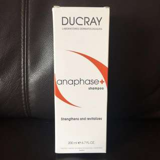 Ducray anaphase+ shampoo (for hair loss)