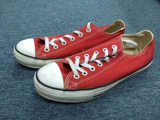 Converse All Star red shoes
