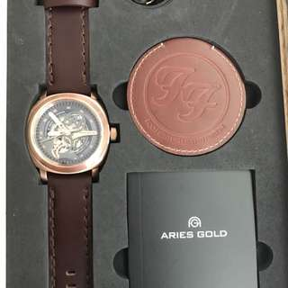 Aries Gold X Foo Fighter Limited Editions