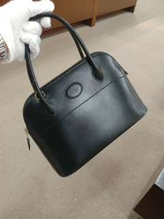 Hermes bolide 27 in black