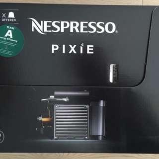 nespresso pixie 㗎啡機 全新未開 如圖